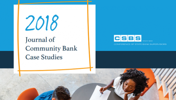 Image of 2018 Journal of Community Bank Case Studies